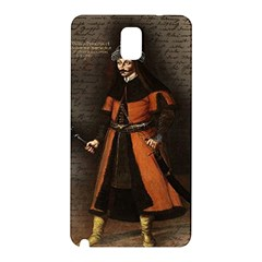 Count Vlad Dracula Samsung Galaxy Note 3 N9005 Hardshell Back Case by Valentinaart