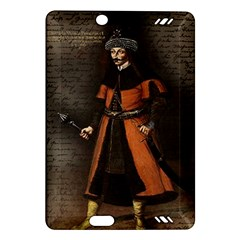 Count Vlad Dracula Amazon Kindle Fire Hd (2013) Hardshell Case by Valentinaart