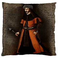 Count Vlad Dracula Standard Flano Cushion Case (two Sides) by Valentinaart