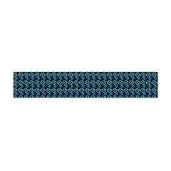 Clovers On Dark Blue Flano Scarf (mini) by PhotoNOLA