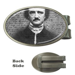 Edgar Allan Poe  Money Clips (oval)  by Valentinaart