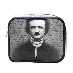 Edgar Allan Poe  Mini Toiletries Bags by Valentinaart