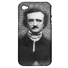 Edgar Allan Poe  Apple Iphone 4/4s Hardshell Case (pc+silicone) by Valentinaart