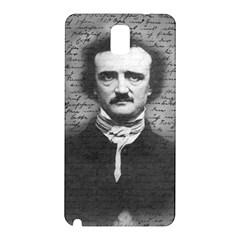 Edgar Allan Poe  Samsung Galaxy Note 3 N9005 Hardshell Back Case by Valentinaart