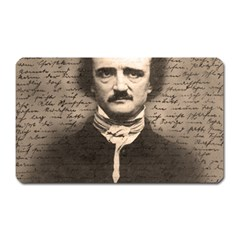 Edgar Allan Poe  Magnet (rectangular) by Valentinaart