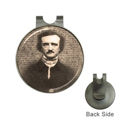 Edgar Allan Poe  Hat Clips With Golf Markers by Valentinaart