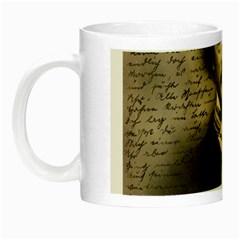 Edgar Allan Poe  Night Luminous Mugs by Valentinaart
