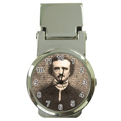 Edgar Allan Poe  Money Clip Watches by Valentinaart