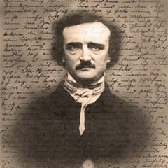 Edgar Allan Poe  Canvas 12  X 12   by Valentinaart