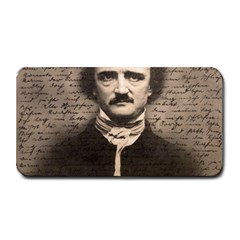Edgar Allan Poe  Medium Bar Mats by Valentinaart