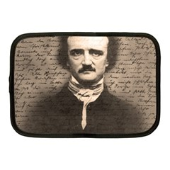 Edgar Allan Poe  Netbook Case (medium)  by Valentinaart