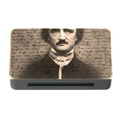 Edgar Allan Poe  Memory Card Reader With Cf by Valentinaart