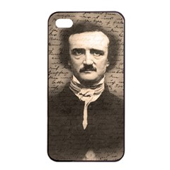 Edgar Allan Poe  Apple Iphone 4/4s Seamless Case (black) by Valentinaart