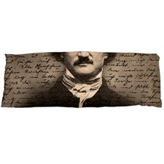 Edgar Allan Poe  Body Pillow Case (dakimakura) by Valentinaart