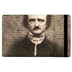 Edgar Allan Poe  Apple Ipad 3/4 Flip Case by Valentinaart
