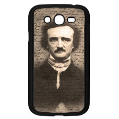 Edgar Allan Poe  Samsung Galaxy Grand Duos I9082 Case (black) by Valentinaart