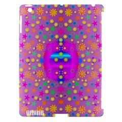 Colors And Wonderful Flowers On A Meadow Apple Ipad 3/4 Hardshell Case (compatible With Smart Cover) by pepitasart