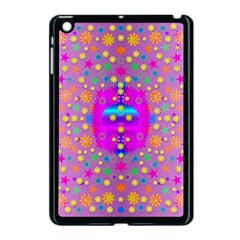 Colors And Wonderful Flowers On A Meadow Apple Ipad Mini Case (black) by pepitasart