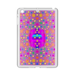 Colors And Wonderful Flowers On A Meadow Ipad Mini 2 Enamel Coated Cases by pepitasart