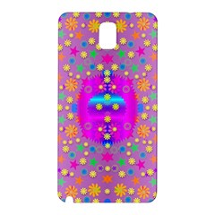 Colors And Wonderful Flowers On A Meadow Samsung Galaxy Note 3 N9005 Hardshell Back Case by pepitasart