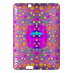 Colors And Wonderful Flowers On A Meadow Kindle Fire Hdx Hardshell Case by pepitasart