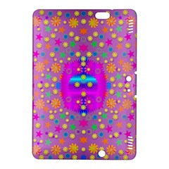 Colors And Wonderful Flowers On A Meadow Kindle Fire Hdx 8 9  Hardshell Case by pepitasart