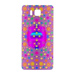Colors And Wonderful Flowers On A Meadow Samsung Galaxy Alpha Hardshell Back Case by pepitasart