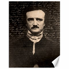 Edgar Allan Poe  Canvas 12  X 16   by Valentinaart