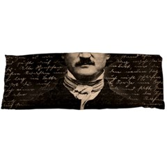 Edgar Allan Poe  Body Pillow Case Dakimakura (two Sides) by Valentinaart