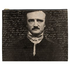 Edgar Allan Poe  Cosmetic Bag (xxxl)  by Valentinaart