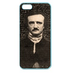 Edgar Allan Poe  Apple Seamless Iphone 5 Case (color) by Valentinaart