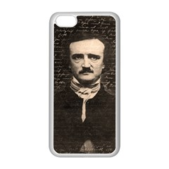 Edgar Allan Poe  Apple Iphone 5c Seamless Case (white) by Valentinaart