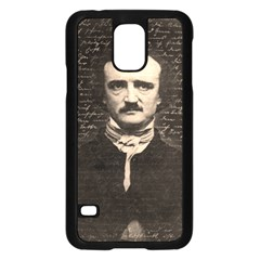 Edgar Allan Poe  Samsung Galaxy S5 Case (black) by Valentinaart
