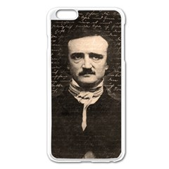 Edgar Allan Poe  Apple Iphone 6 Plus/6s Plus Enamel White Case by Valentinaart