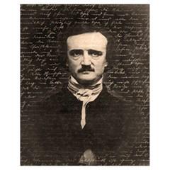 Edgar Allan Poe  Drawstring Bag (small) by Valentinaart