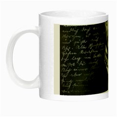 Edgar Allan Poe  Night Luminous Mugs by Valentinaart