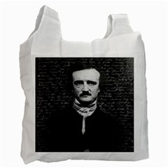 Edgar Allan Poe  Recycle Bag (one Side) by Valentinaart