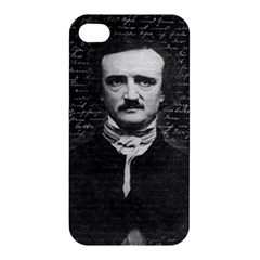 Edgar Allan Poe  Apple Iphone 4/4s Premium Hardshell Case by Valentinaart