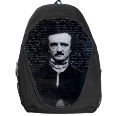 Edgar Allan Poe  Backpack Bag by Valentinaart