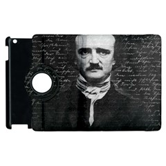 Edgar Allan Poe  Apple Ipad 3/4 Flip 360 Case by Valentinaart
