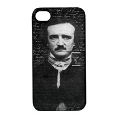 Edgar Allan Poe  Apple Iphone 4/4s Hardshell Case With Stand by Valentinaart