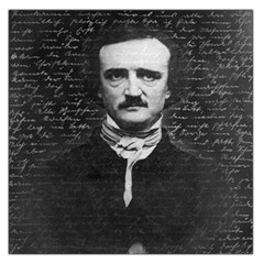 Edgar Allan Poe  Large Satin Scarf (square) by Valentinaart