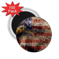 Vintage Eagle  2 25  Magnets (100 Pack)  by Valentinaart