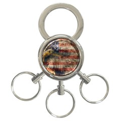 Vintage Eagle  3 Ring Key Chains by Valentinaart