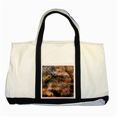 Vintage Eagle  Two Tone Tote Bag by Valentinaart