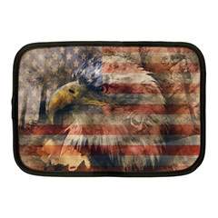 Vintage Eagle  Netbook Case (medium)  by Valentinaart