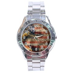 Vintage Eagle  Stainless Steel Analogue Watch by Valentinaart