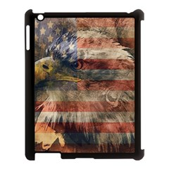 Vintage Eagle  Apple Ipad 3/4 Case (black) by Valentinaart