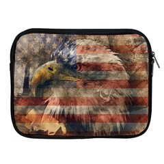 Vintage Eagle  Apple Ipad 2/3/4 Zipper Cases by Valentinaart