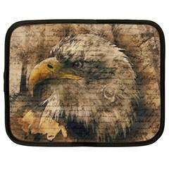 Vintage Eagle  Netbook Case (xl)  by Valentinaart